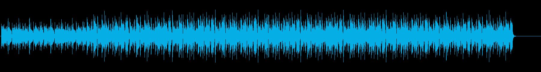 ハワイ風な爽やかポップス aの再生済みの波形