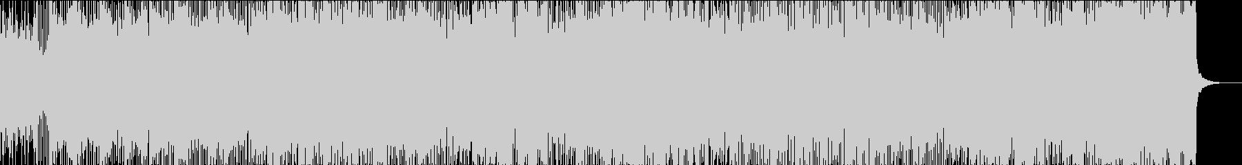 バイオリン ピアノ 戦闘シーンの未再生の波形