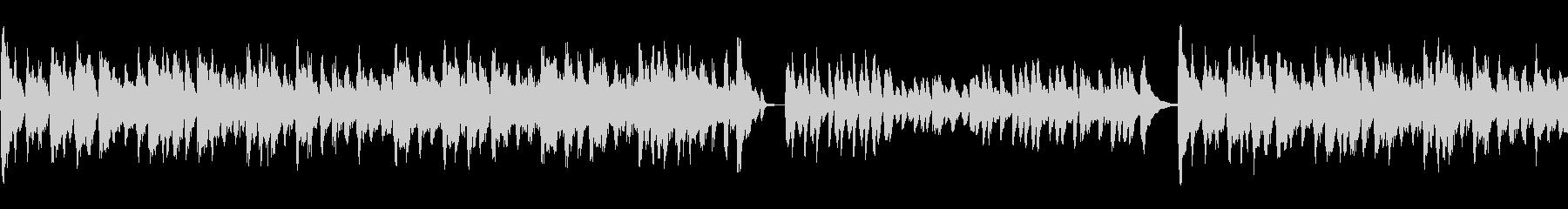 Cartoon ピアノ ストリング...の未再生の波形