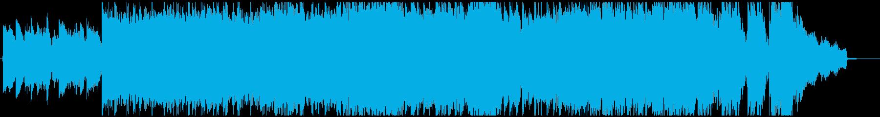 メタル 積極的 焦り エレキギター...の再生済みの波形
