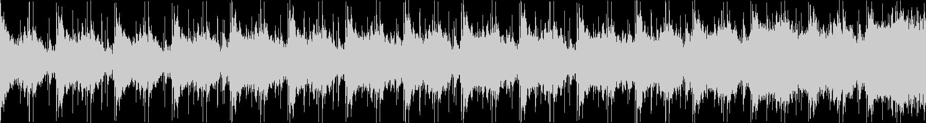 冷たいダンジョンぽい曲 ループバージョンの未再生の波形