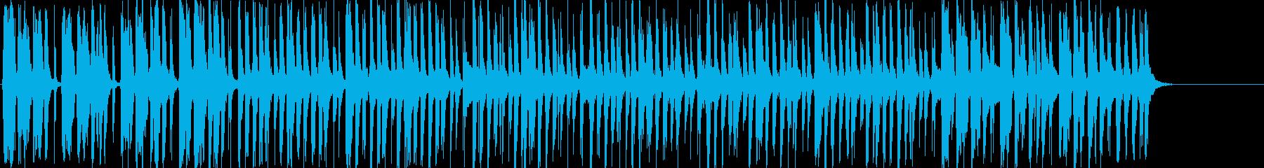 明るく楽しい口笛メインのBGMの再生済みの波形