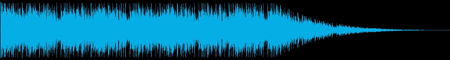 開放的/宇宙/エレクトロ_No602_5の再生済みの波形