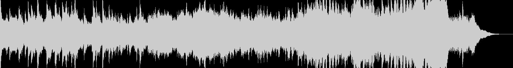 壮大で優雅なクラシカル風BGMの未再生の波形