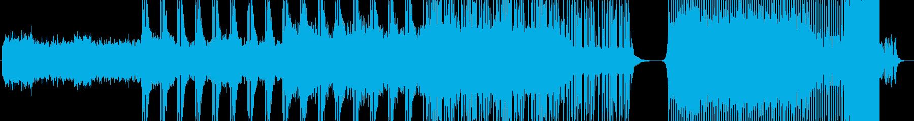 リラックスしつつテンションを上げられる曲の再生済みの波形
