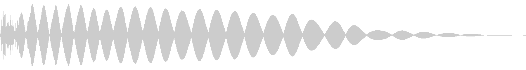 EDMやIDM系のバスドラム! 05の未再生の波形
