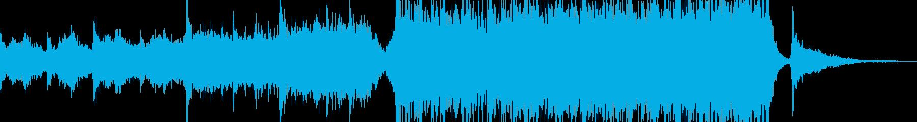 アジアンスタイルファンタジーモダンの再生済みの波形