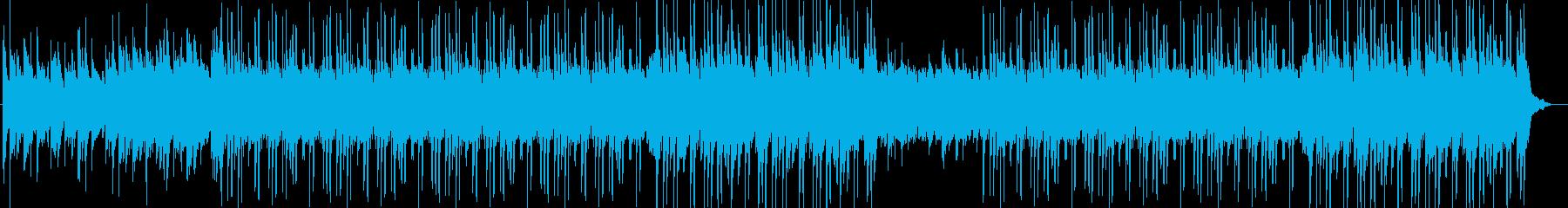 洋楽、チルアウト、ハープR&Bトラック♪の再生済みの波形