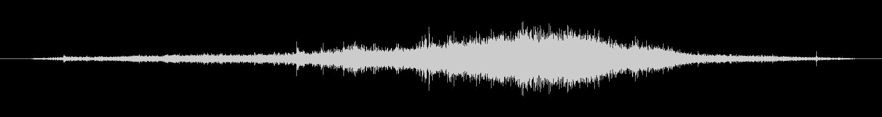 ジープパスイントゥザウォーターの未再生の波形