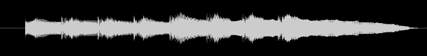 ドレミファソラシドの音の未再生の波形