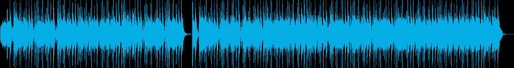 ビートの効いたオルガンロックの再生済みの波形