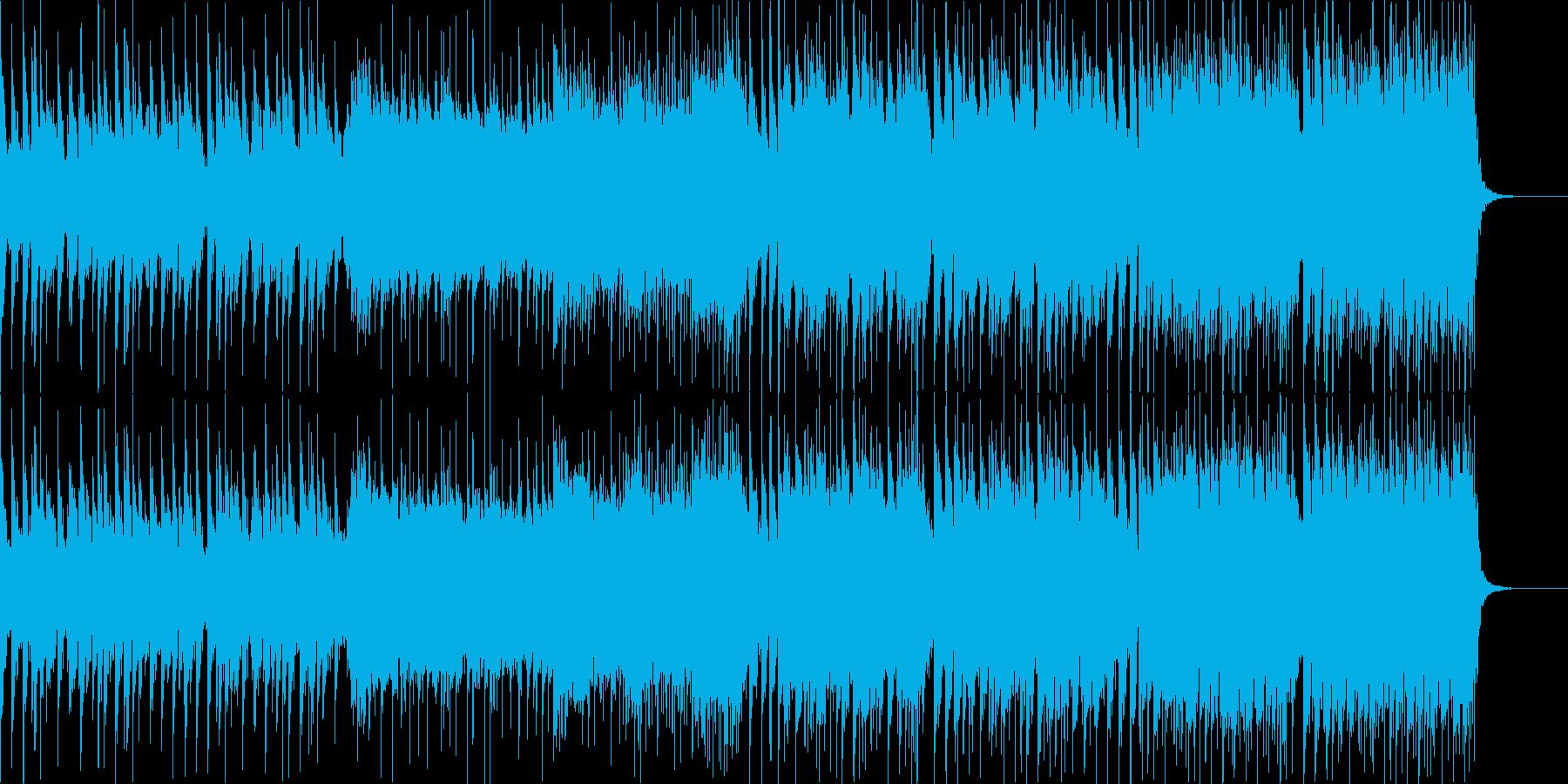 クールで近未来的な和風EDM 三味線+亊の再生済みの波形
