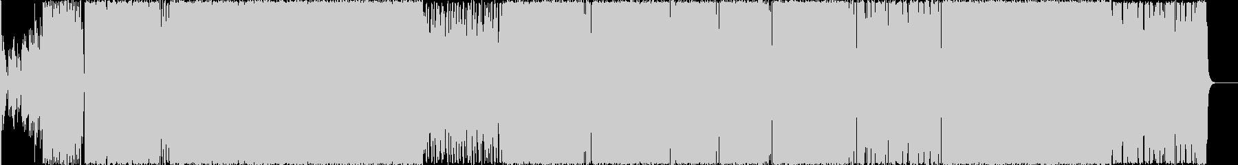 化学融合、クールでかっこいいエレクトロの未再生の波形
