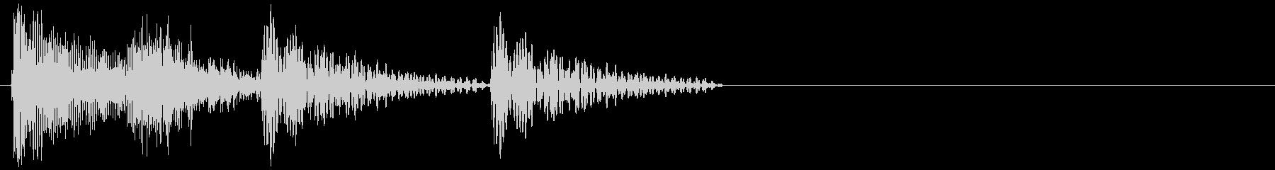 ピチャココ(進行・小休憩・アクセント)の未再生の波形