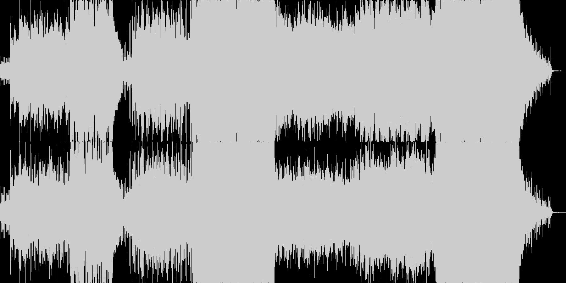 映像系にぴったりな感動壮大オーケストラ風の未再生の波形