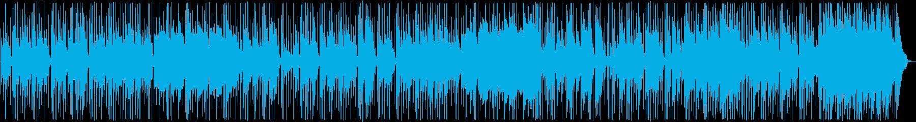 和風RPGの最初の街で流れていそうな曲の再生済みの波形