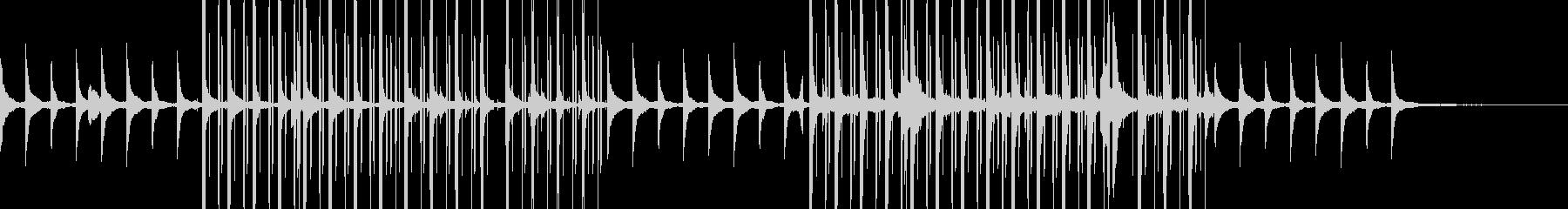 ピアノメインの壮大なスケールのインストの未再生の波形
