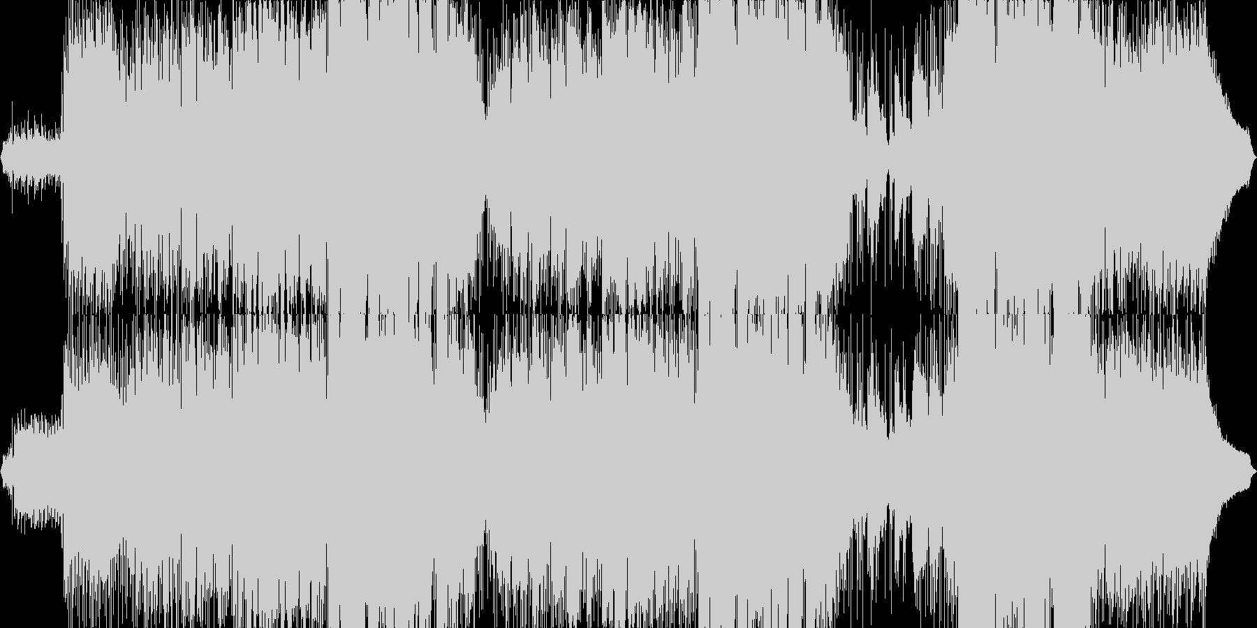 切なく、絶望的な世界を描いた楽曲の未再生の波形