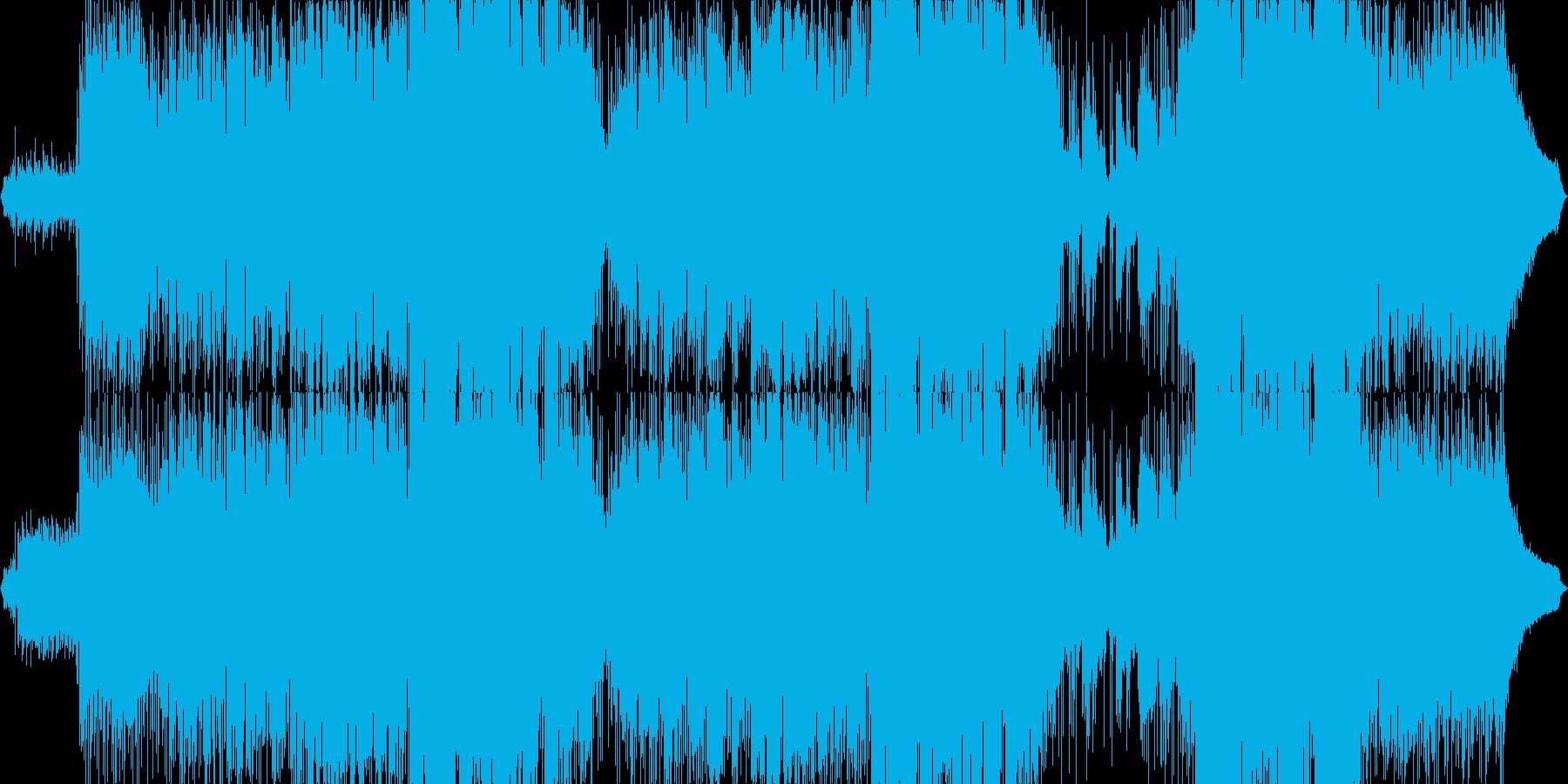 切なく、絶望的な世界を描いた楽曲の再生済みの波形