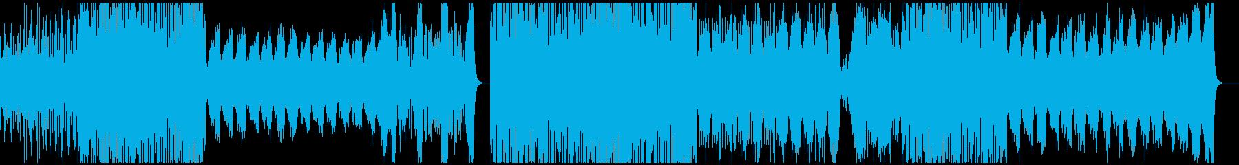 明るい弦楽四重奏の再生済みの波形