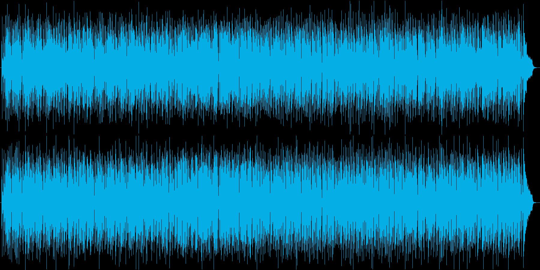 ボサノバジャズサックスの再生済みの波形