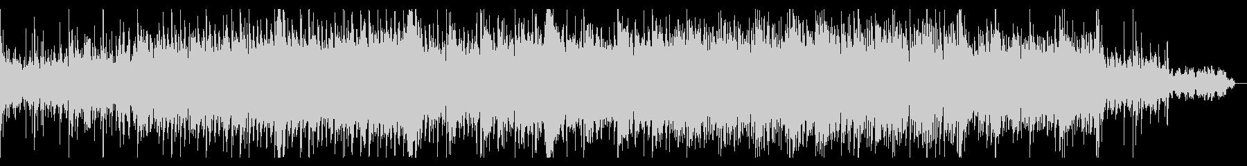 シリアスなオーケストラ調のBGMの未再生の波形