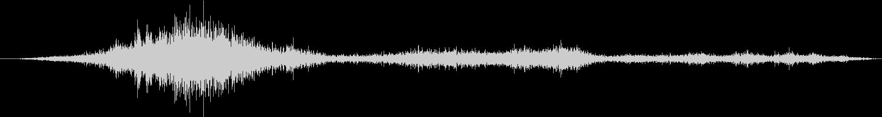 ミリタリーF-86:Ext:離陸、...の未再生の波形
