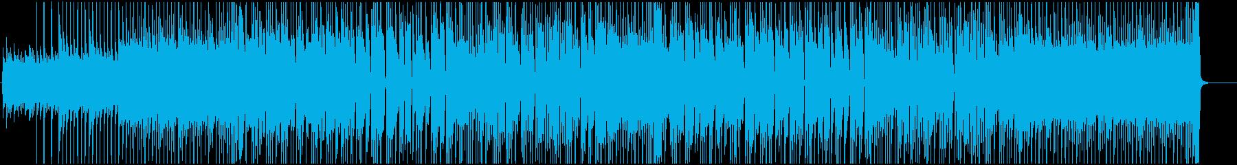 サーフロック風の爽やかなポップス♪の再生済みの波形