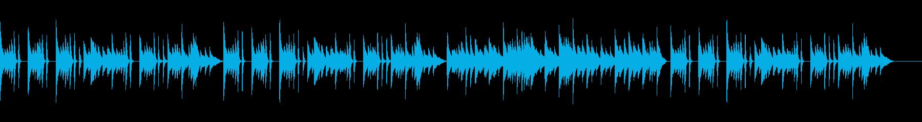 シンプルなワルツで使いやすいピアノソロの再生済みの波形
