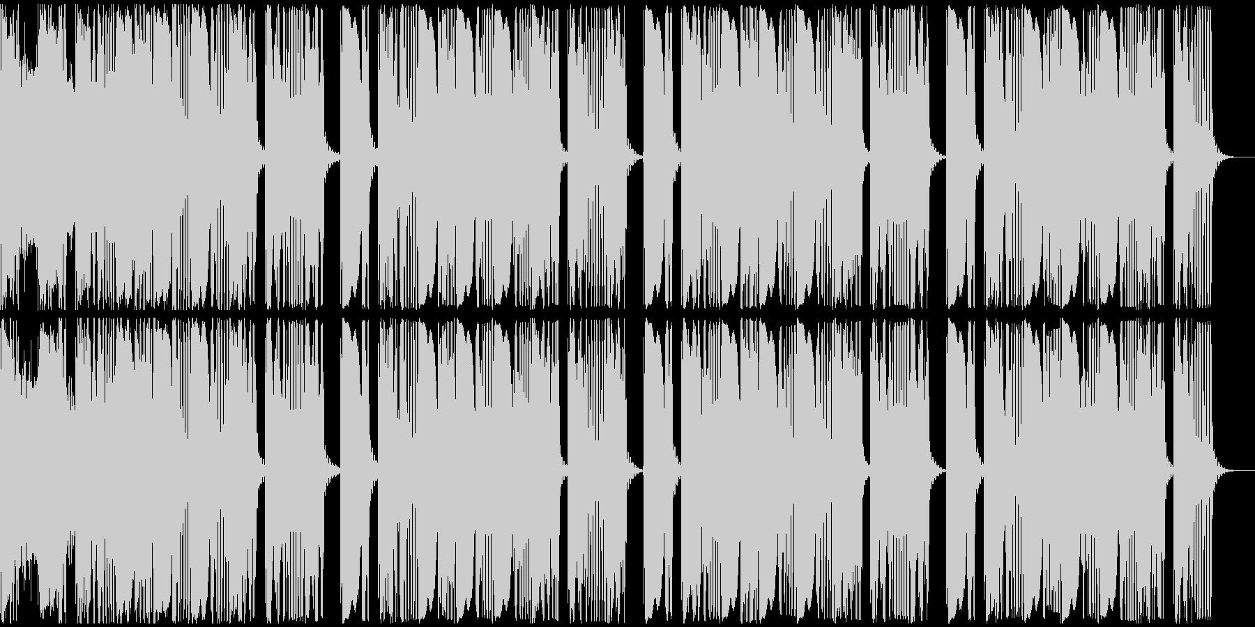 【アンビエント】ロング2、ショート1の未再生の波形
