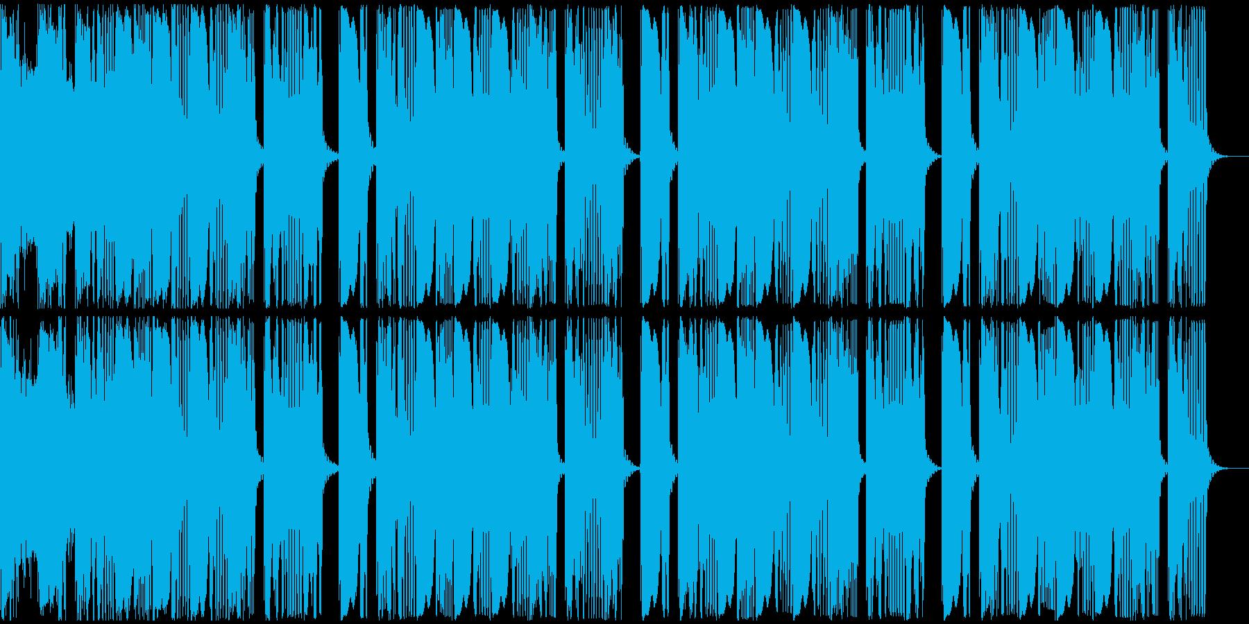 【アンビエント】ロング2、ショート1の再生済みの波形