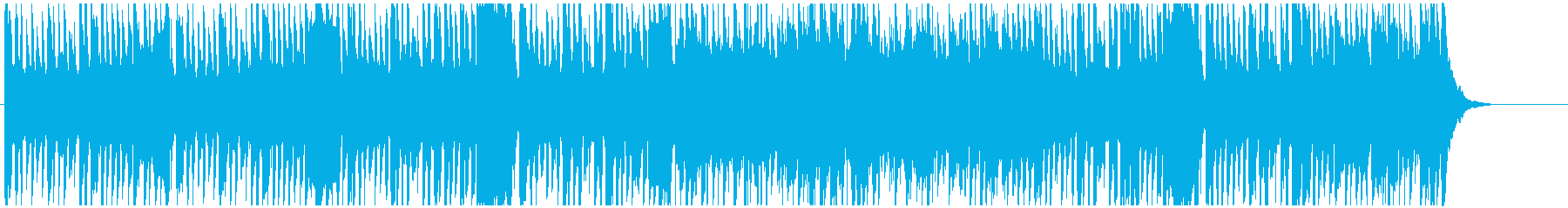 Fantastic and cute BGM's reproduced waveform