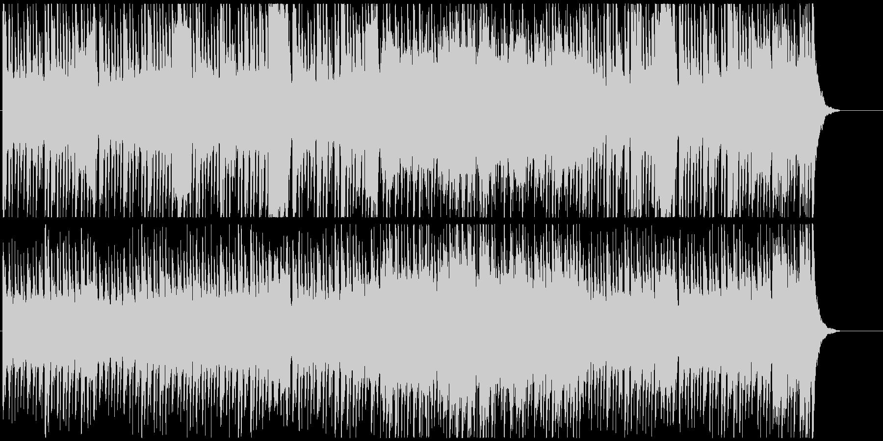 ファンタジックでかわいいBGMの未再生の波形