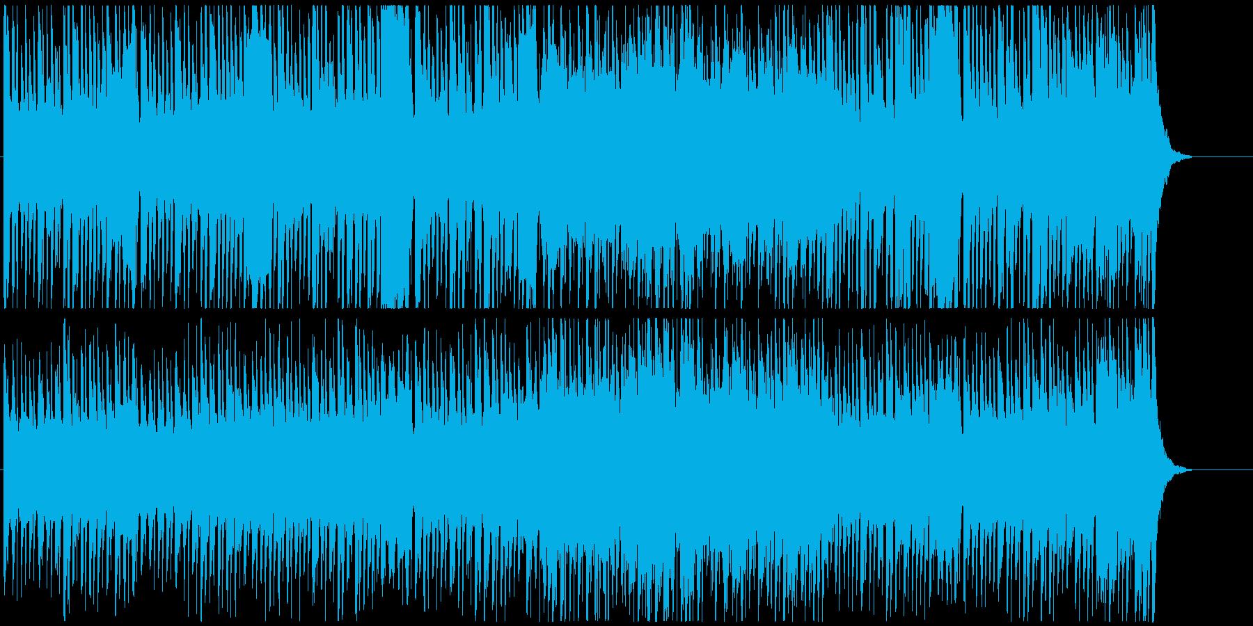 ファンタジックでかわいいBGMの再生済みの波形