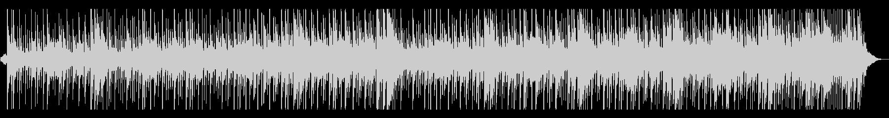 アフリカンなマリンバとドラムのシーケンスの未再生の波形