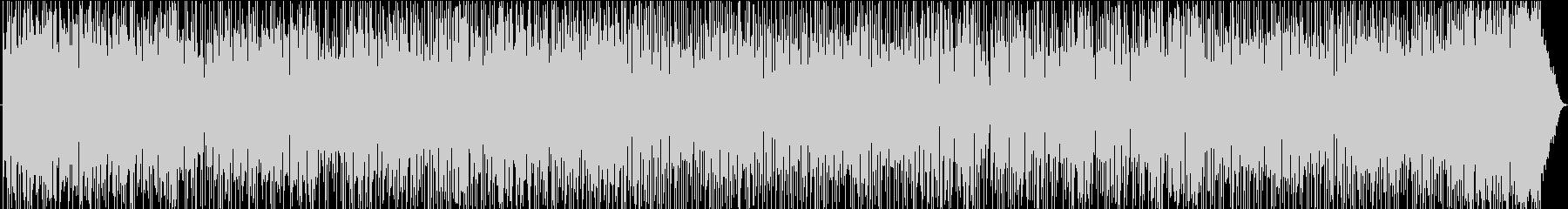 ボサノバ、ピアノバー。フルートソロの未再生の波形