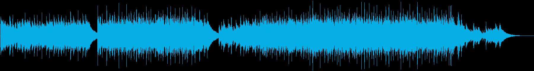 ポップインスト。さわやかな気楽な音...の再生済みの波形
