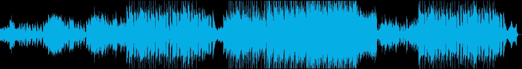 深海イメージのアンビエントの再生済みの波形