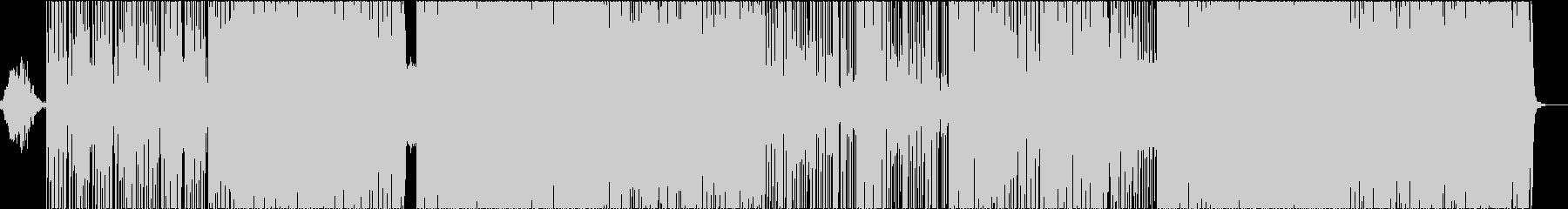 和風ヒップホップの未再生の波形