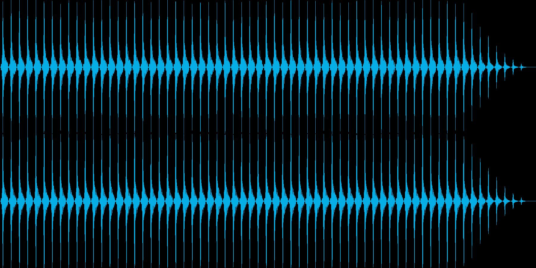 クリスマスの鈴(軽め)の再生済みの波形