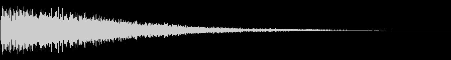 BIG ECHOEY GONG H...の未再生の波形