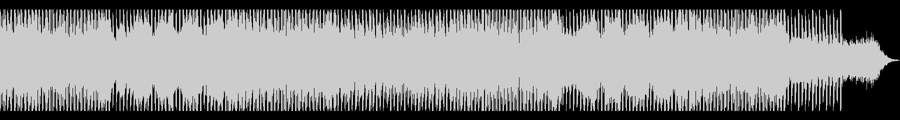 ダークでカッコイイ怪しい雰囲気な曲の未再生の波形
