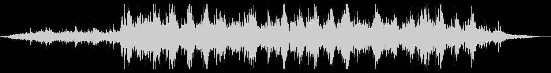 爽やかで抽象的なピアノアンビエントの未再生の波形