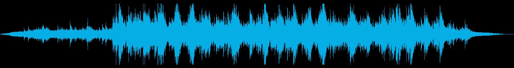 爽やかで抽象的なピアノアンビエントの再生済みの波形
