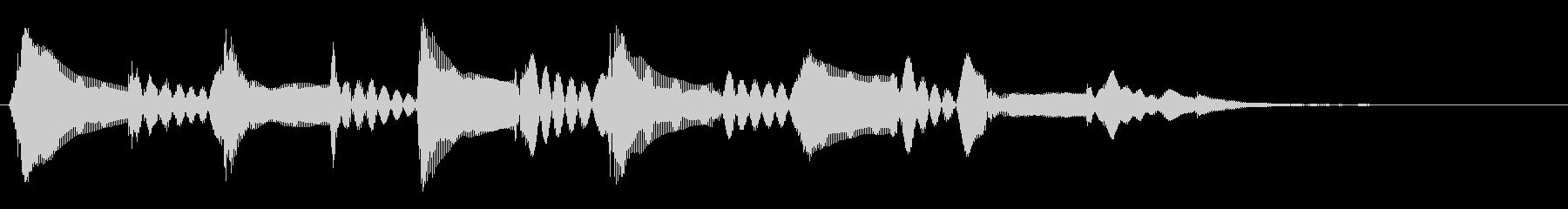 マンドリン:ロー・スロー・トリル、...の未再生の波形