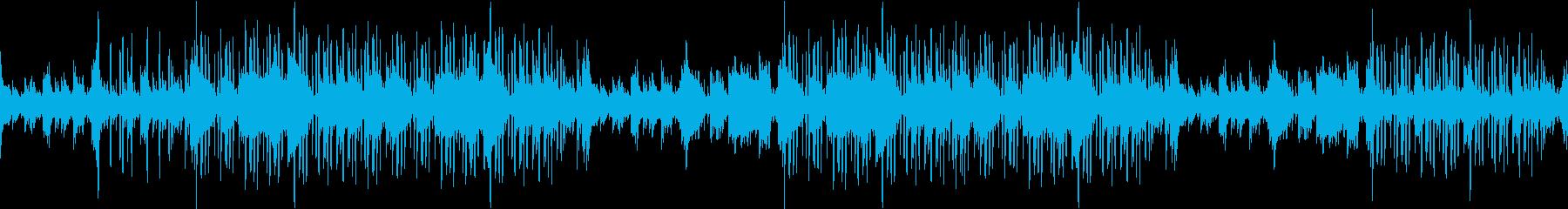 ピアノ・エモ・綺麗・ヒップホップ・ループの再生済みの波形