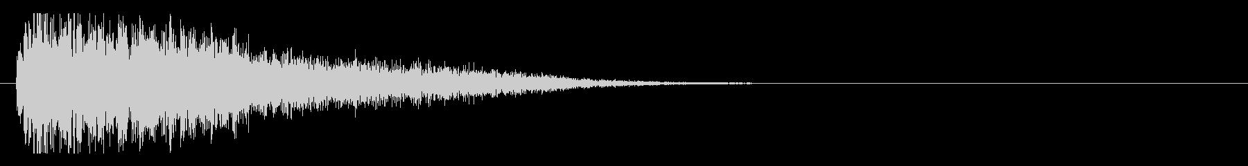 サスペンスピアノ音_2-3の未再生の波形