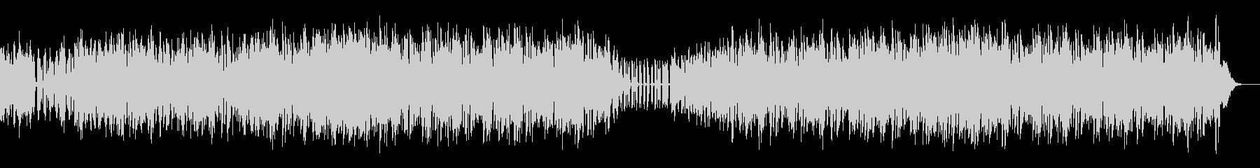 ボイスで構成されたパーッカッシブなテクノの未再生の波形