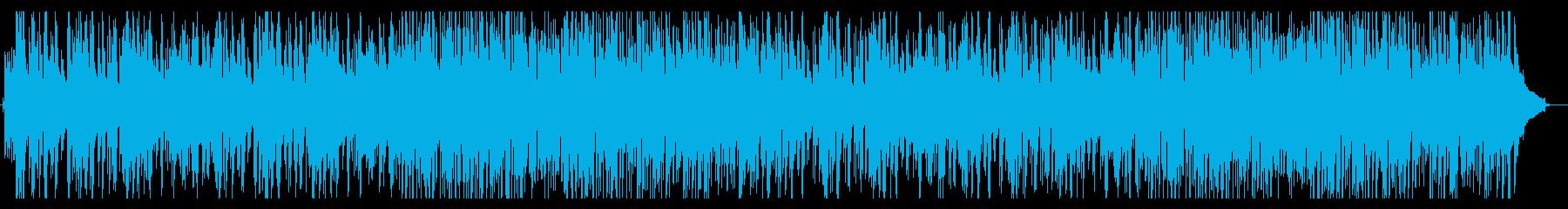 ノリノリな明るいラテンポップの再生済みの波形