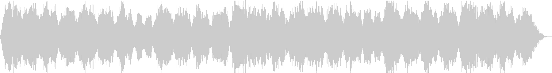 荘厳な雰囲気のBGMの未再生の波形